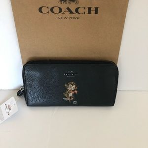 Coach Bags - Authentic Coach Limited Edition Black Wallet NWT